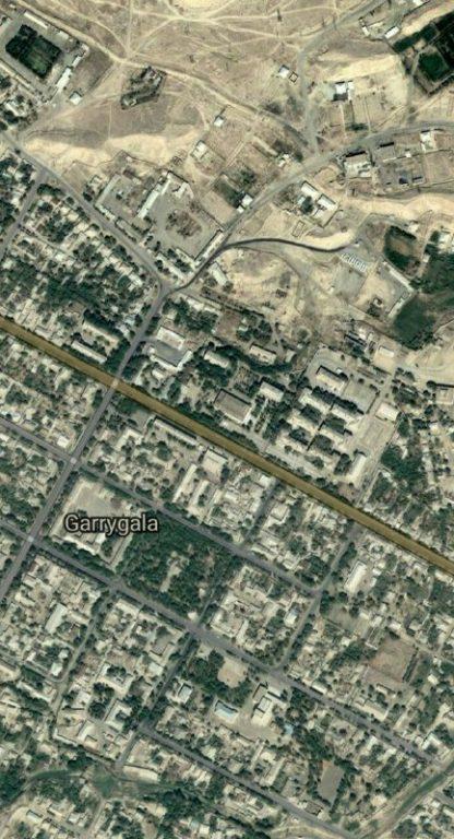 مکان قبلی مدرسه شیخ اراز محمد ایشان در ترکمنستان